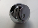Multiflush New Style Replacement Chrome Dual Flush Button - 08000500